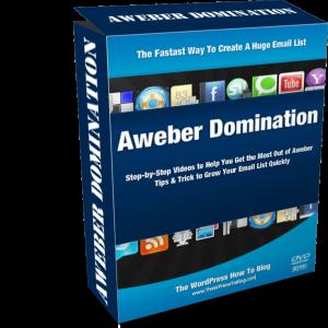 Aweber Domination - Aweber Video Tutorial