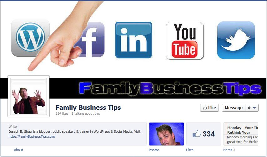 Facebook Fan Page Timeline View - Innovative Use of Cover Photo