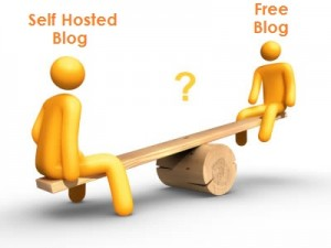 Free or Self-hosted ? Image Courtesy: thewphowtoblog.com