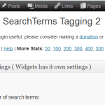 SEO SearchTerms Tagging 2 - WordPress Plugin