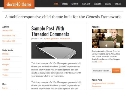 Genesis Eleven40 Theme