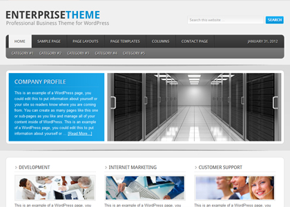 Genesis Enterprise Theme