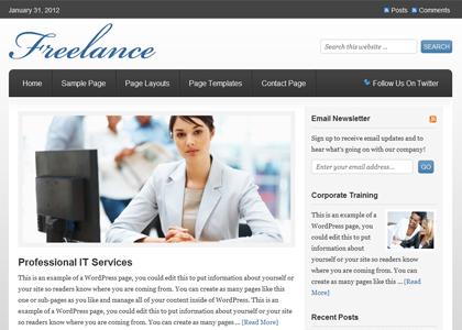 Genesis Freelance Theme