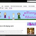 Screenshot of MommyAdventures.net