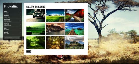 Photorific Image Gallery and Portfolio