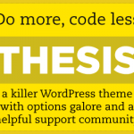 Thesis WordPress Theme Review – Thesis 2.0