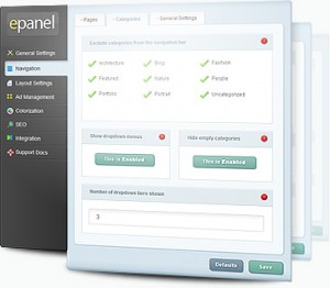 ePanel for Elegant WordPress Themes
